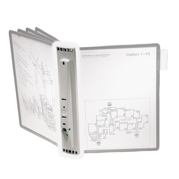 Дисплейная настенная система на  5 панелей DURABLE Sherpa Wall, 5622/10, без панелей