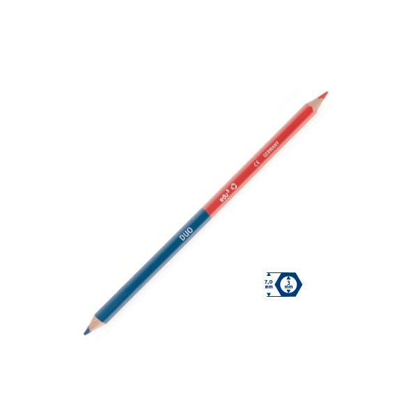 Карандаш двухцветный красно-синий Expert DUO, корпус 7мм