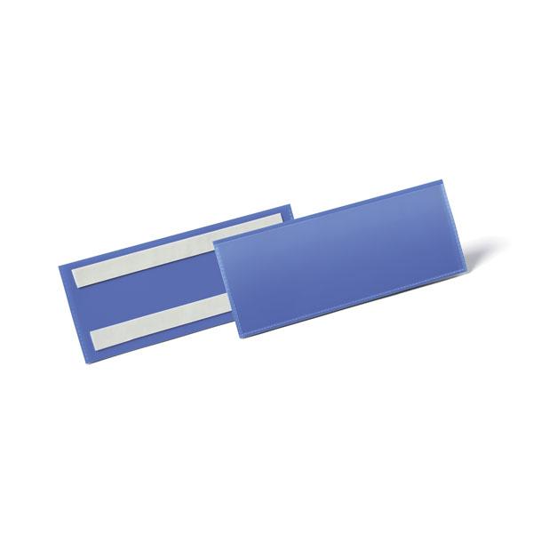 Карман для маркировки самоклеящийся DURABLE 1794/07, 1/2 А5, синий