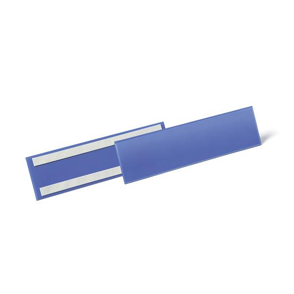 Карман для маркировки самоклеящийся DURABLE 1796/07, 1/3 А4, синий