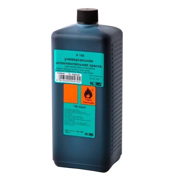 Краска для полиэтилена / полипропилена 1000мл черная Noris 196 E