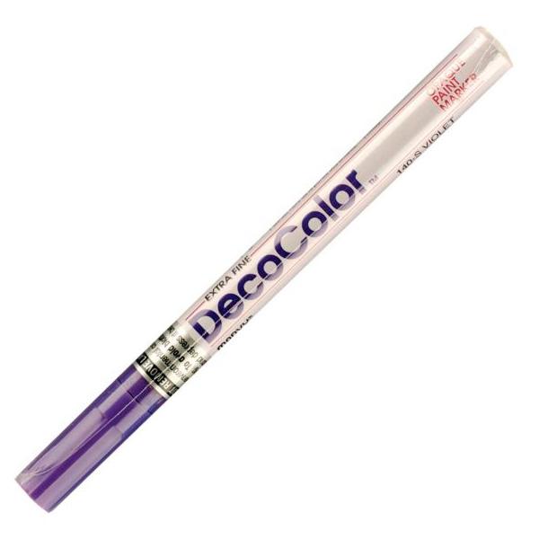 Маркер лаковый  MARVY 140/8 фиолетовый 0,75мм