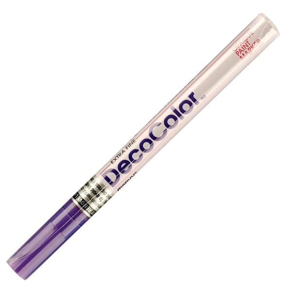 Маркер лаковый  MARVY 200/8 фиолетовый 1-2мм