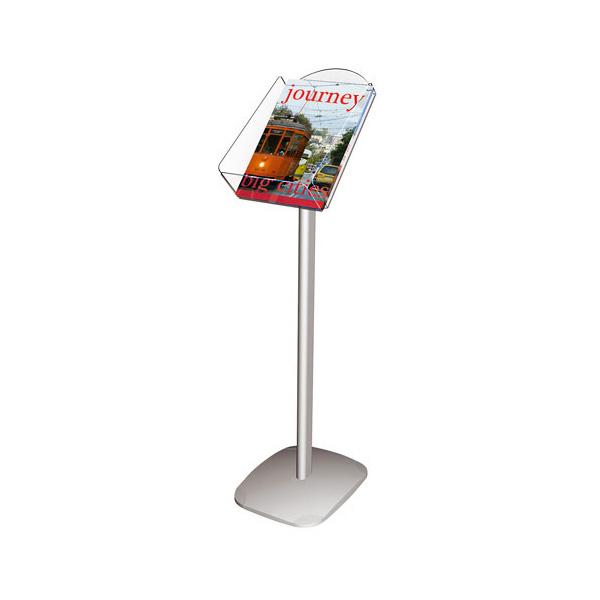 Напольная рекламная подставка для брошюр А4, 100см, 2x3, SUDA4V