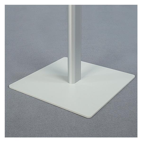 Напольная рекламная стойка с клик-рамкой А3, горизонтальная, 100см, 2x3, TZ100/A3H