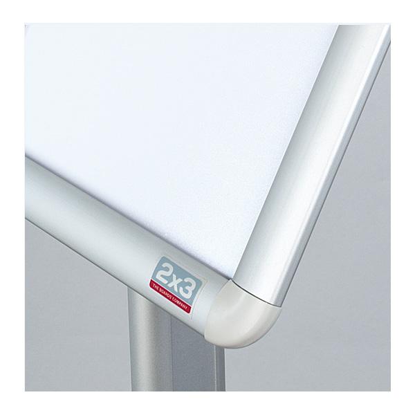 Напольная рекламная стойка с клик-рамкой А4, вертикальная, 100см, 2x3, TZ100/A4V