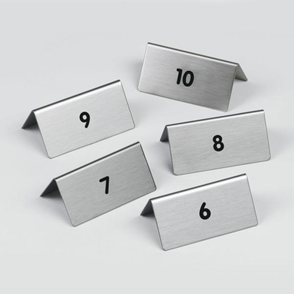 """Пиктограмма """"от 6 до 10"""", настольные таблички 5шт, DURABLE, 4971/23"""