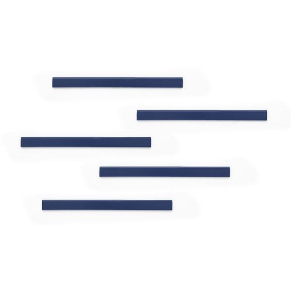 Полоса магнитная (держатель для информации) 210х17мм DURABLE DURAFIX® RAIL 4706/07, 5шт/уп, синий