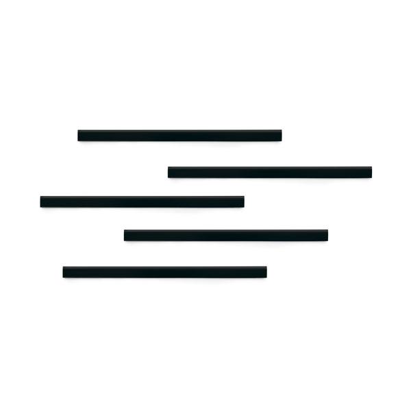 Полоса магнитная (держатель для информации) 297х17мм DURABLE DURAFIX® RAIL 4707/01, 5шт/уп, черный