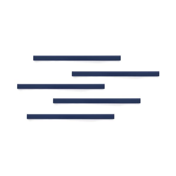 Полоса магнитная (держатель для информации) 297х17мм DURABLE DURAFIX® RAIL 4707/07, 5шт/уп, синий