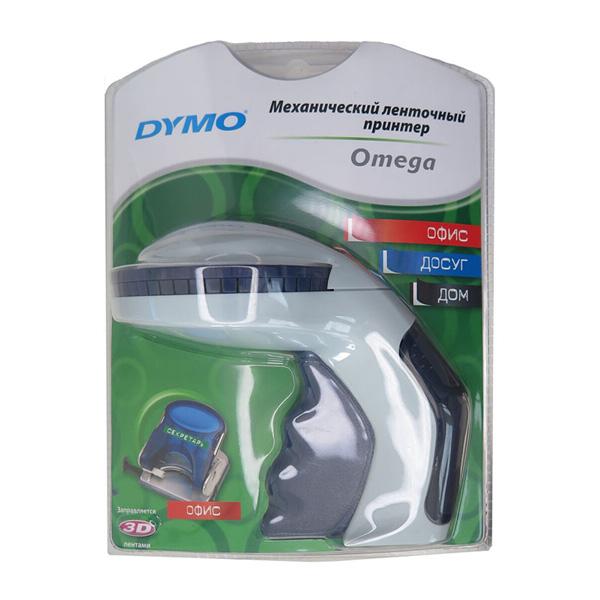 Принтер этикеток ленточный DYMO Omega EM, механический, русский, DYMO14045