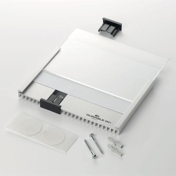 Табличка настенная DURABLE INFO SIGN 149х52,5 мм, 4800/23, серебристая