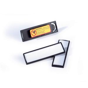 Бейдж с магнитом в рамке 17х67мм, DURABLE CLIP CARD, 8132/01