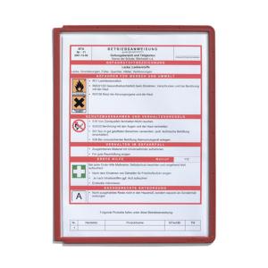 Демопанель А4 DURABLE SHERPA® красная, 5606/03