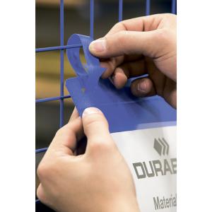 Логистические карманы для маркировки стеллажей и палетт