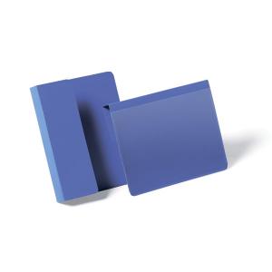 Карман для маркировки паллет DURABLE 1721/07, А6 горизонтальный, синий