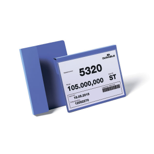 Карман для маркировки паллет DURABLE 1722/07, А5 горизонтальный, синий