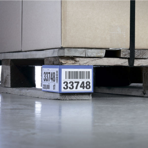 Карман для маркировки паллет DURABLE 1724/07, 145х75мм, синий