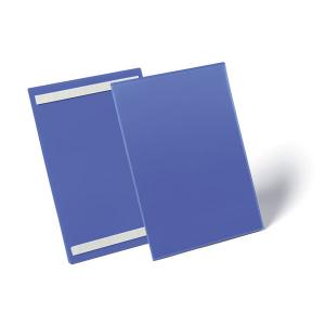 Карман для маркировки самоклеящийся DURABLE 1797/07, А4 вертикальный, синий