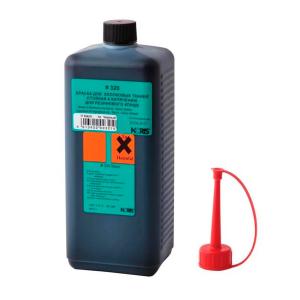 Штемпельная краска для хлопковых тканей 1000мл чёрная Noris 320 E