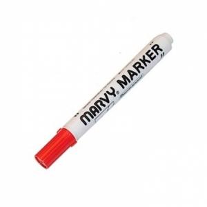 Маркер перманентный MARVY 482B/2 красный 1,5-3мм