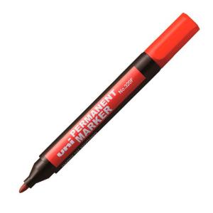 Маркер перманентный UNI 320F красный 1-3мм