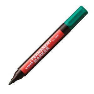 Маркер перманентный UNI 320F зеленый 1-3мм