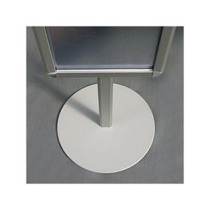 Напольная односторонняя рекламная стойка с 3 клик-рамками А4, 176см, 2x3, PTZN/A4
