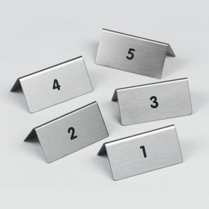 """Пиктограмма """"от 1 до 5"""", настольные таблички 5шт, DURABLE, 4970/23"""
