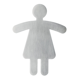 "Пиктограмма ""Туалет женский"", настенная табличка, DURABLE, фигурка, 4950/23"