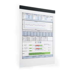 Полоса магнитная (держатель для информации) 210х17мм DURABLE DURAFIX® RAIL 4706/01, 5шт/уп, черный