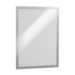 Рамка информационная магнитная А3 DURABLE Duraframe 4873/23 серебристая