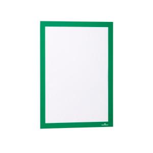 Рамка информационная магнитная А4 DURABLE Duraframe 4872/05 зеленая