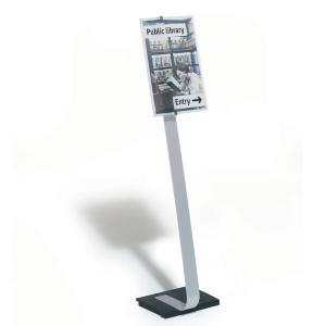 Стойка информационная напольная DURABLE CRISTAL SIGN STEND A3, 4819/23