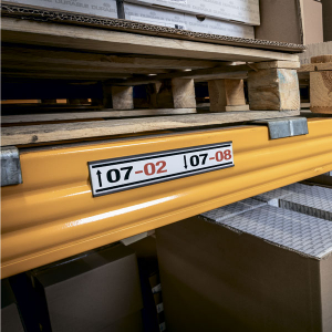 Табличка для маркировки магнитная 200х40мм DURABLE 1712/58  5шт/уп